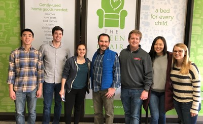 Raleigh Office Helps The Green Chair Project Pcg Public